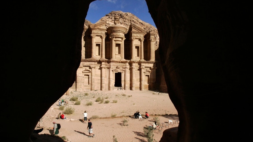 A view of the ancient city of Petra January 4, 2008.