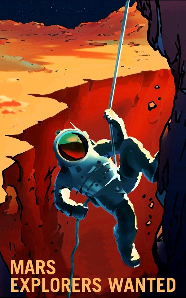 an introduction to the exploration of the red planet mars Finally, there's the dark horse in the race to the red planet mars one is the ever-morphing effort to turn space exploration into a reality show.