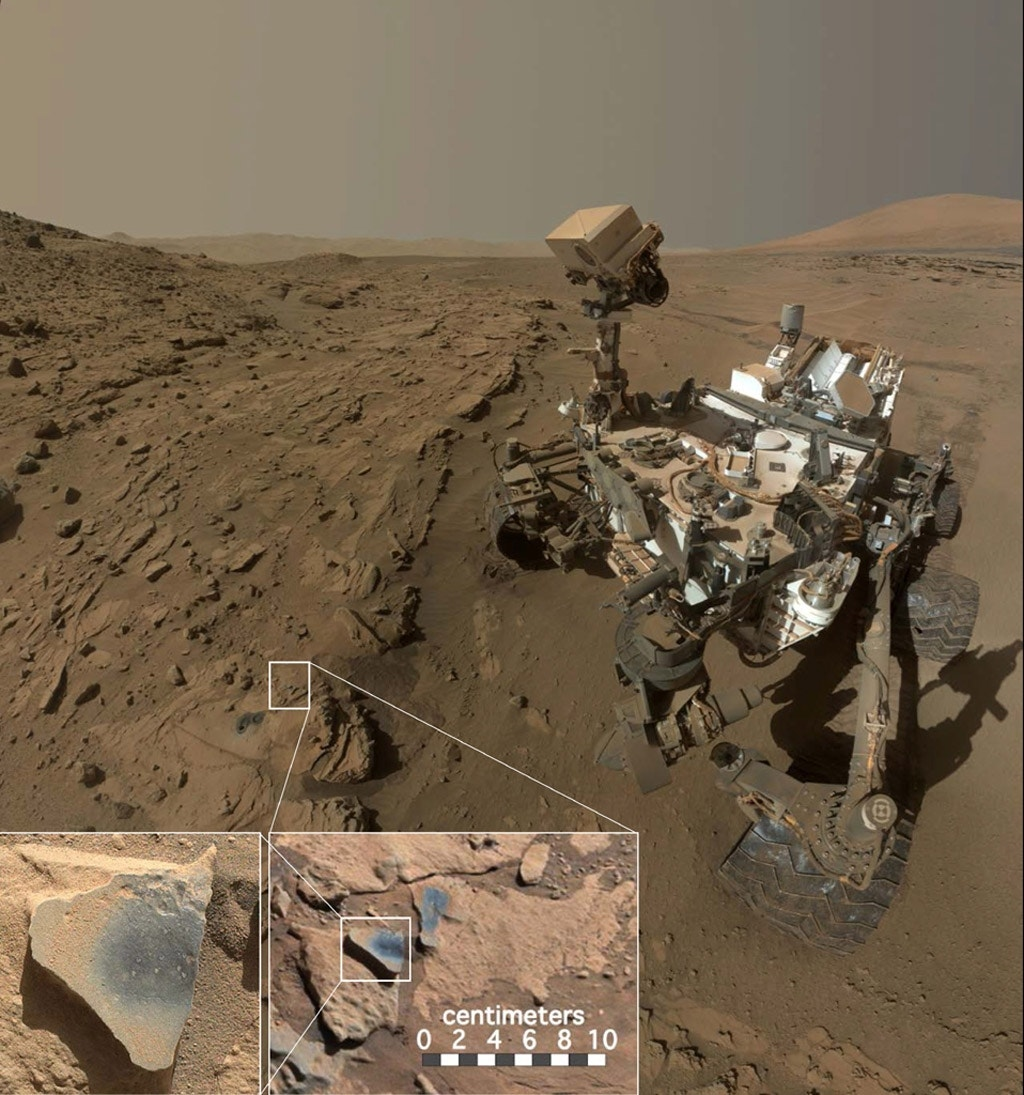 Mars' atmosphere was likely more oxygen-rich long ago   Fox News