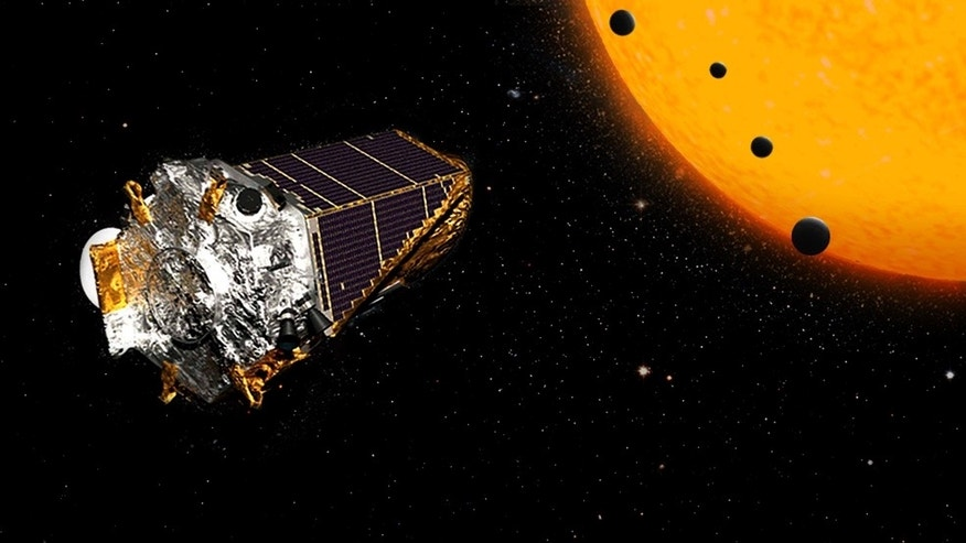 NASA's Kepler space telescope recently discovered 104 exoplanets, including four possibly rocky worlds that circle a red dwarf star called K2-72.
