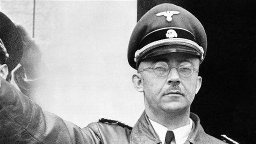 The undated file photo shows German Nazi party official and head of the SS, Heinrich Himmler.