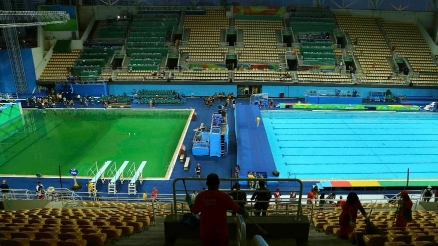 Image result for green pool rio