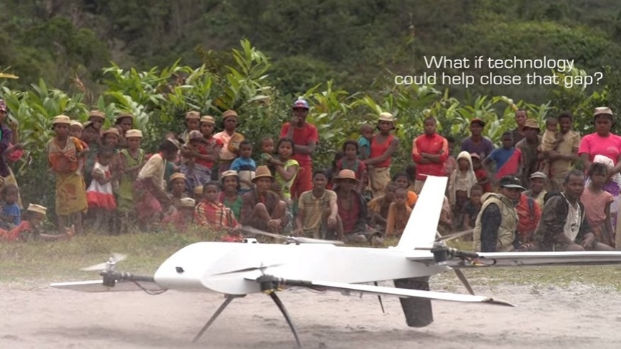 In a first, drone used to collect medical samples from rural village