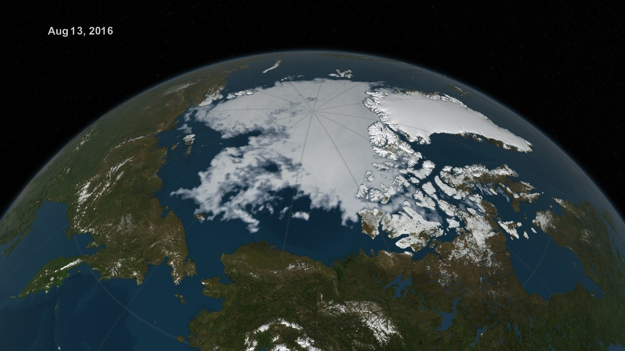 Low amount of Arctic sea ice is the 'new normal,' NASA ...