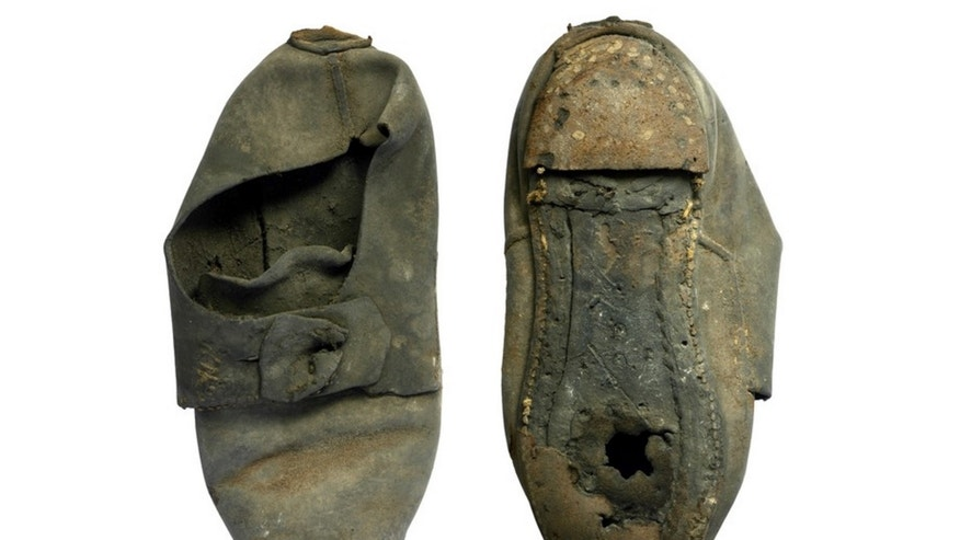This remarkably well-preserved shoe was likely used to ward off evil spirits some 300 years ago, researchers say.