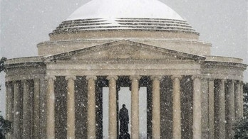 The Jefferson Memorial is among several monuments and cemeteries in Washington DC that have been damaged by a black slime called biofilm.