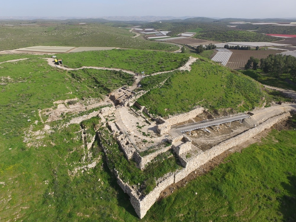 Ancient city gate and shrine from Hebrew Bible uncovered
