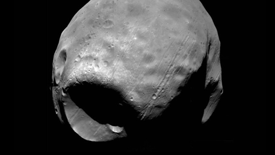 The Martian moon Phobos.