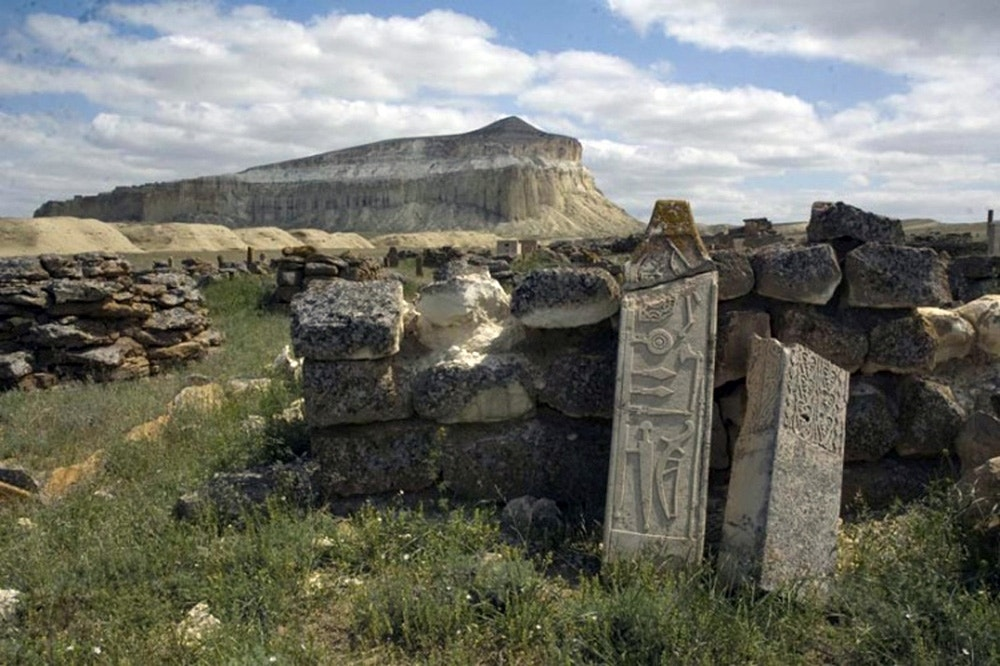 Built by the Huns? Ancient stone monuments discovered along Caspian