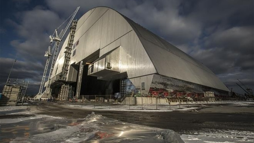 Inside the new effort to entomb Chernobyl's wreckage