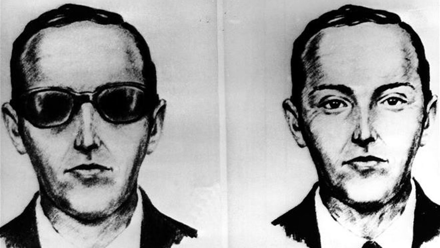 This undated artist sketch shows the man known as DB Cooper.