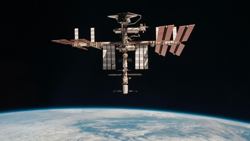 File photo - the International Space Station.