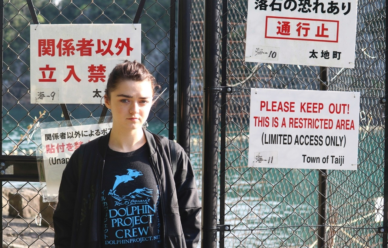 'Game of Thrones' star wants everyone to stop going to dolphin shows