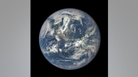 This color image of Earth, taken by NASA's Earth Polychromatic Imaging Camera (EPIC), a four megapixel CCD camera and telescope on July 6, 2015, and released on July 20, 2015.  NASA said the camera takes 10 separate images using different narrowband filters. The image of Earth uses the red, green and blue channel images. REUTERS/NASA/Handout via Reuters   ATTENTION EDITORS - THIS PICTURE WAS PROVIDED BY A THIRD PARTY. REUTERS IS UNABLE TO INDEPENDENTLY VERIFY THE AUTHENTICITY, CONTENT, LOCATION OR DATE OF THIS IMAGE. THIS PICTURE IS DISTRIBUTED EXACTLY AS RECEIVED BY REUTERS, AS A SERVICE TO CLIENTS. FOR EDITORIAL USE ONLY. NOT FOR SALE FOR MARKETING OR ADVERTISING CAMPAIGNS.  - RTX1L4XG
