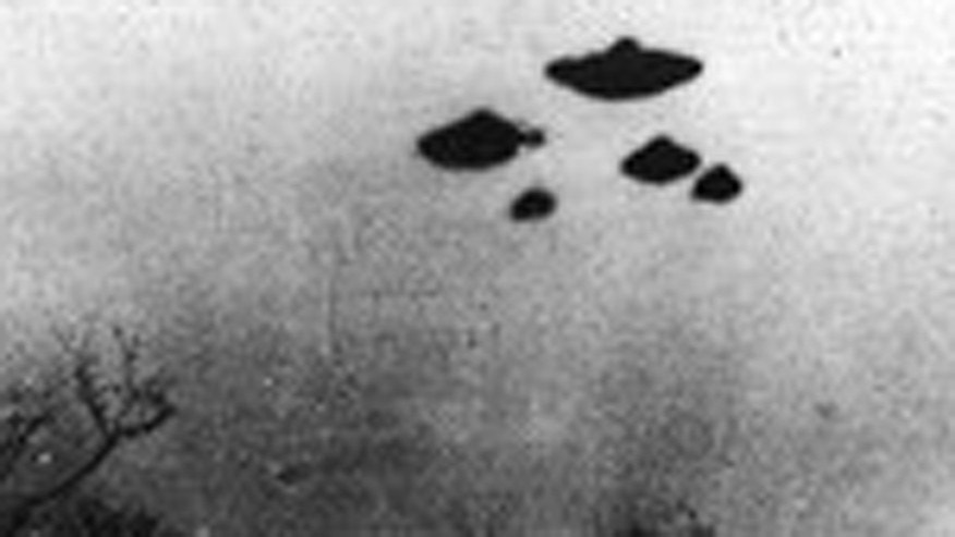 File photo - a 'UFO' sighting over Sheffield, U.K, March 4, 1962 (CIA).