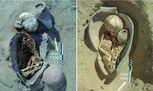 Were Egyptian 'pot burials' a symbol of rebirth?