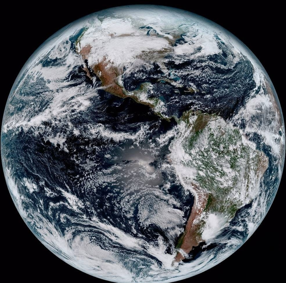 Latest Scientific News: New Satellite Sends 'jaw-dropping' Images Of Earth