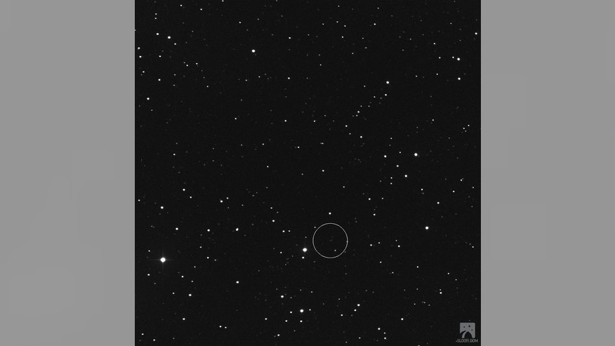 asteroid circling earth - photo #16