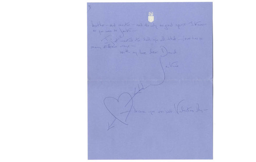 jackie kennedy letter 29