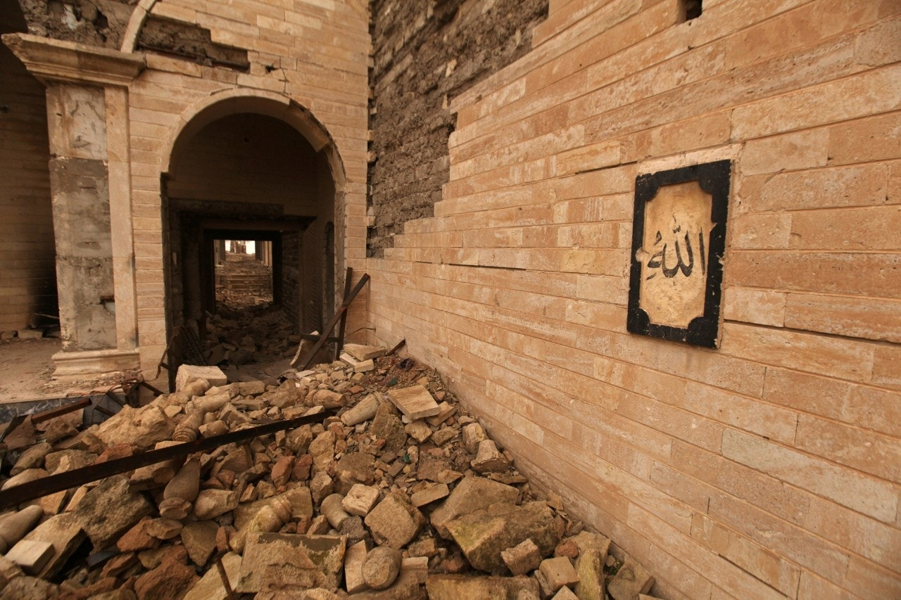 Biblical king's palace uncovered beneath shrine destroyed by ISIS
