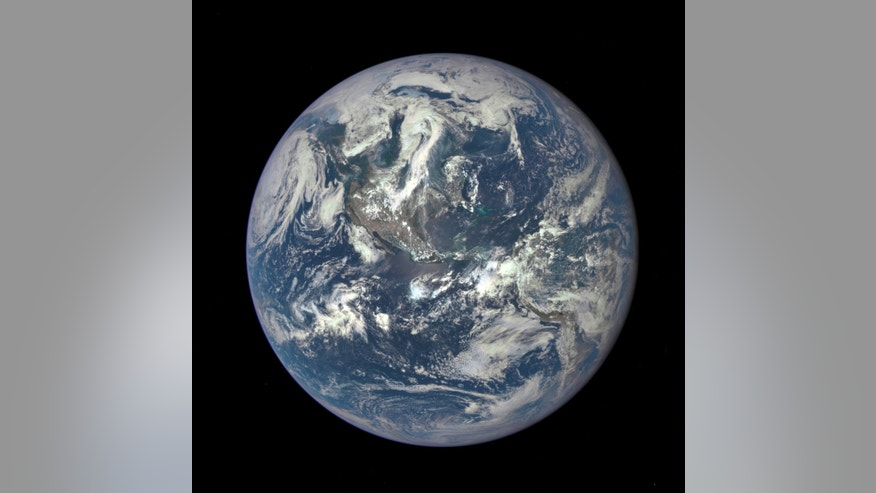 This color image of Earth, taken by NASA's Earth Polychromatic Imaging Camera (EPIC), a four megapixel CCD camera and telescope on July 6, 2015, and released on July 20, 2015. (REUTERS/NASA/Handout via Reuters)