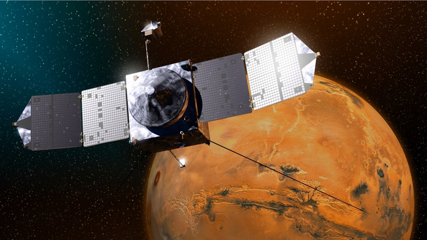 NASA's MAVEN spacecraft has been orbiting Mars since September 2014, scrutinizing the planet's thin atmosphere.
