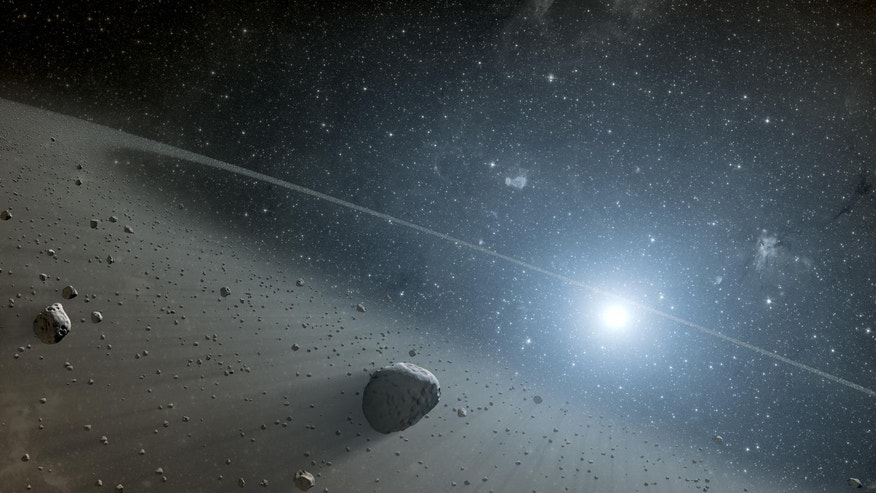 The star Vega, like Earth, has a rocky asteroid belt. On Asteroid Day, scientists around the world consider how Earth could defend itself from such celestial bodies.