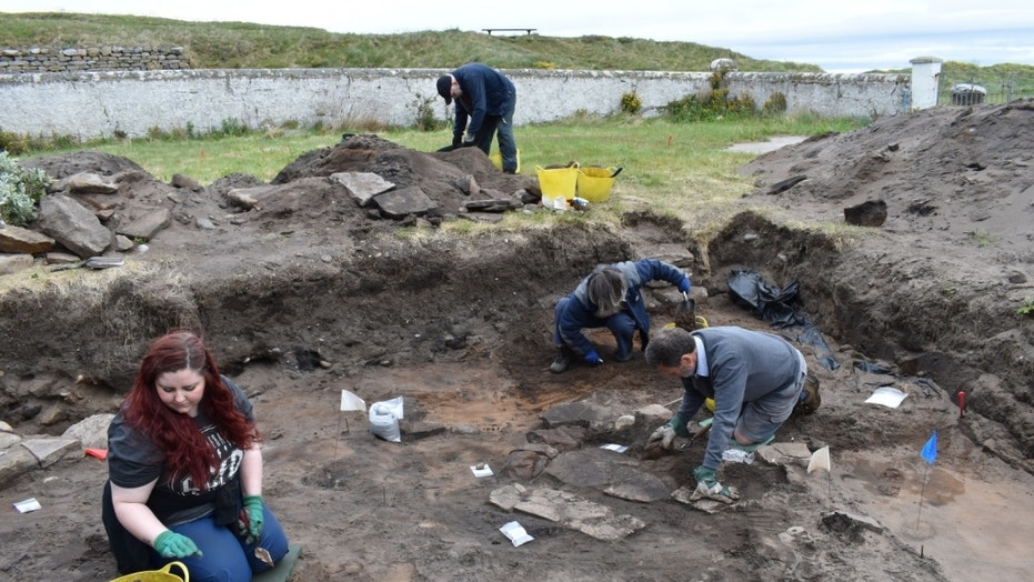 Archaeologists have recently unearthed the traces of an ancient Pictish fort in Scotland underneath an 1800s-era town.