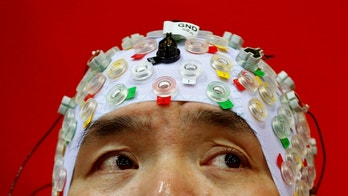 Hong Gi Kim of South Korea competes during the Brain-Computer Interface Race (BCI) at the Cybathlon Championships in Kloten, Switzerland October 8, 2016.  REUTERS/Arnd Wiegmann - RTSRCO0