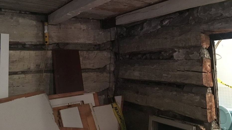 Couple Discover 19th Century Log Cabin During Home