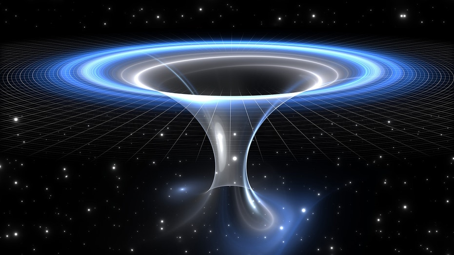 Could wormholes — a theoretical phenomenon predicted by general relativity — create shortcuts through spacetime and make time travel possible?