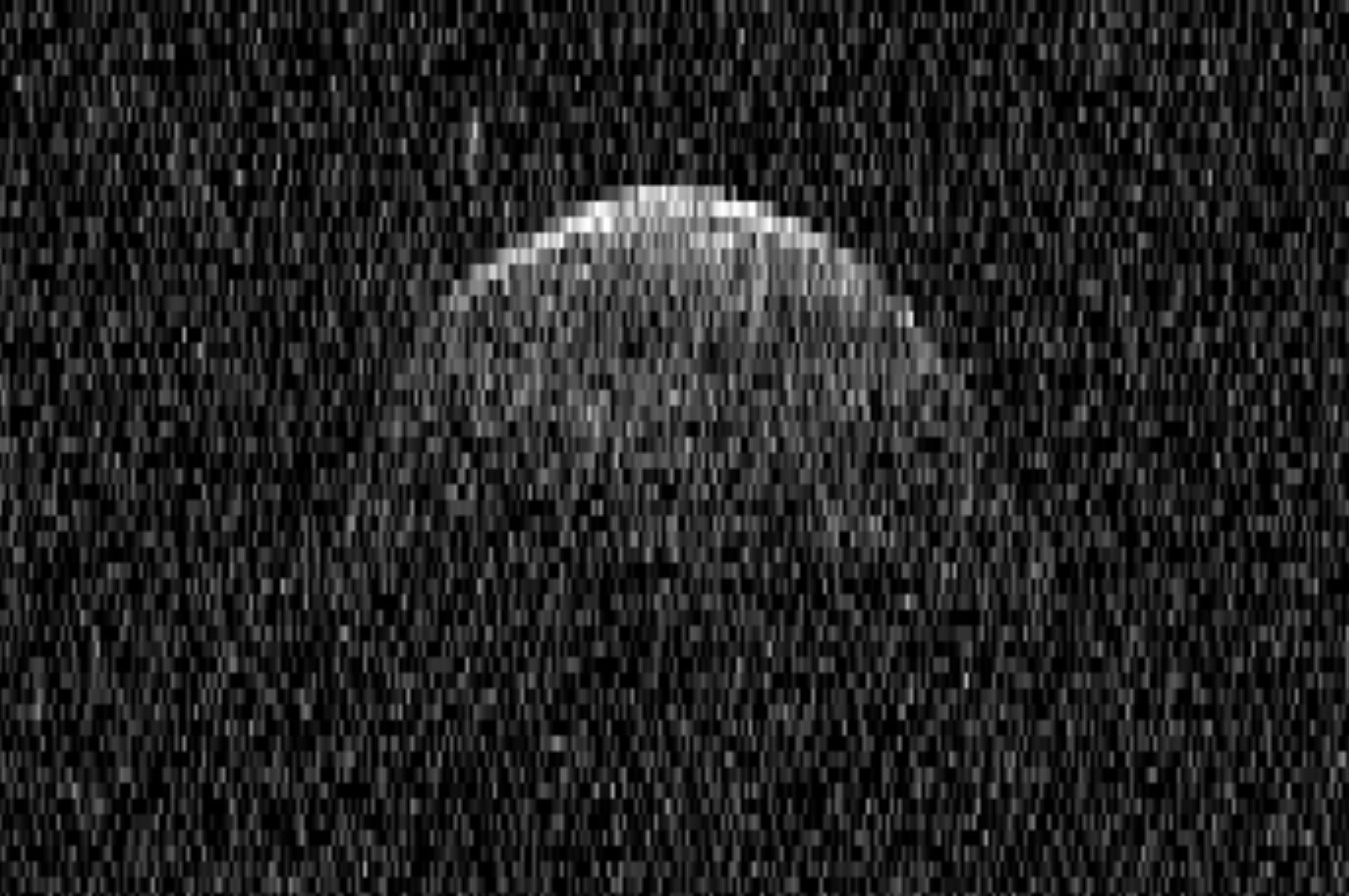 2 moons orbit giant asteroid that buzzed Earth