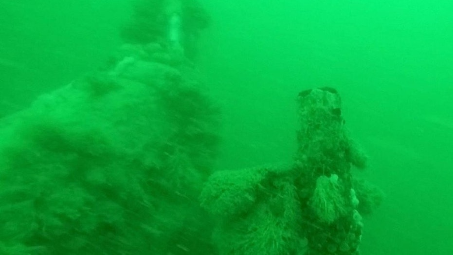 A mostly-intact wreck of a World War I German submarine, containing the bodies of 23 crew members, was found off the Belgian coast
