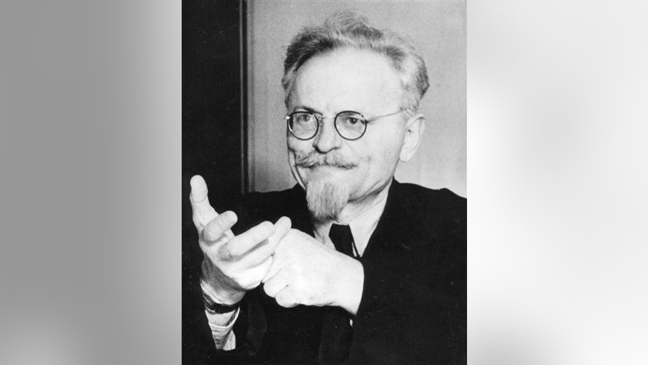 This file photo shows a portrait of Leon Trotsky, the former Bolshevist leader and creator of the Red Army, taken on Aug. 9, 1940, shortly before an attack made on him on Aug. 20, 1940.