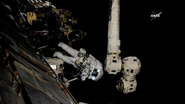 Space Station Astronauts Are Taking a Spacewalk Today