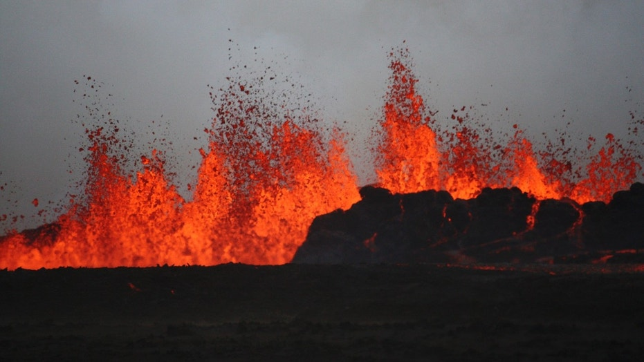 Iceland's biggest volcano has not erupted since February 2015, but after a series of earthquakes over the past week, there are fears it could erupt again. (Credit: REUTERS/Armann Hoskuldsson)