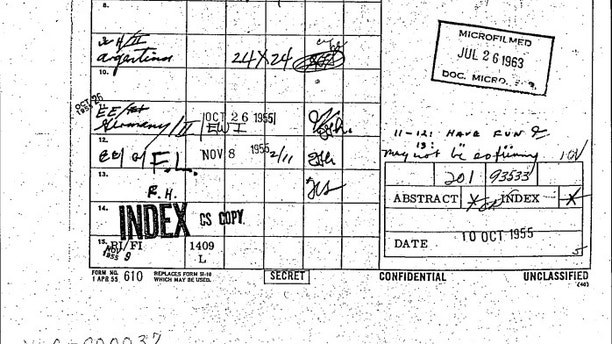 JFK files show informant told CIA Hitler was living in Colombia