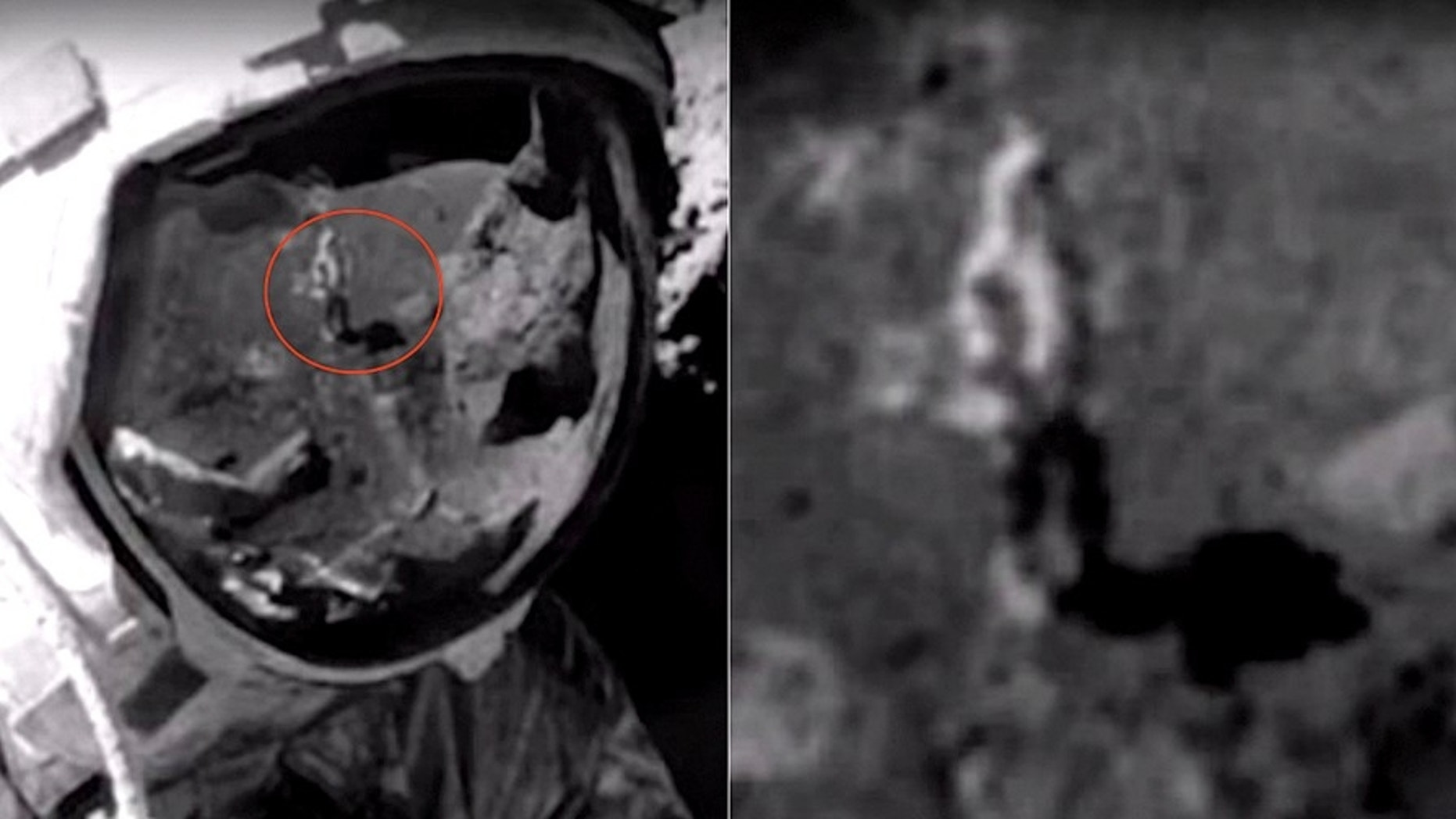 Apollo moon landing was 'faked, suggests ' new 'photo ...
