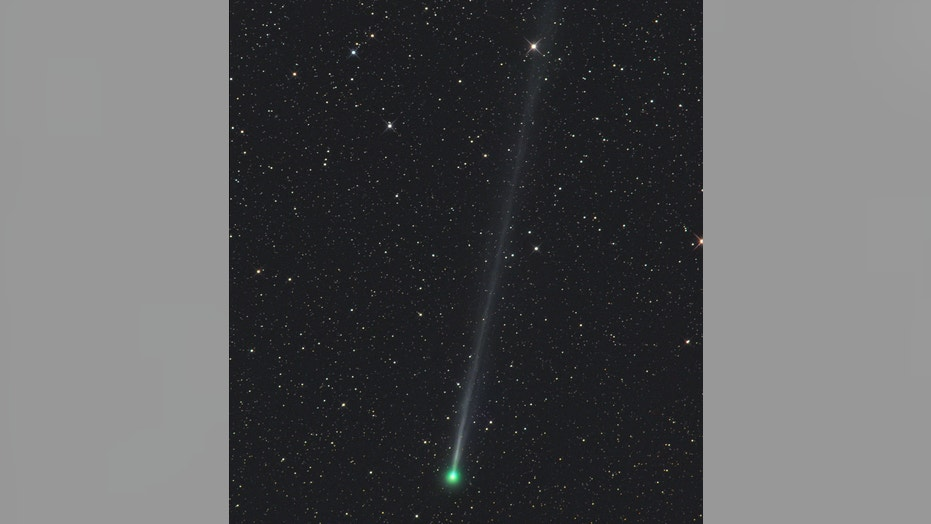 Gerald Rhemann caught this view of Comet 45P/Honda-Mrkos-Pajdušáková using a telescope from Farm Tivoli in Namibia, Africa.
