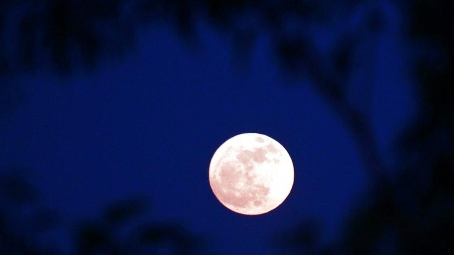 The Supermoon seen from Naypyitaw, Burma, on Sunday.
