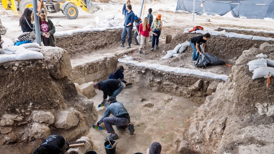 The ruins of a 1,500-year-old church were unearthed during salvage excavations in Israel.