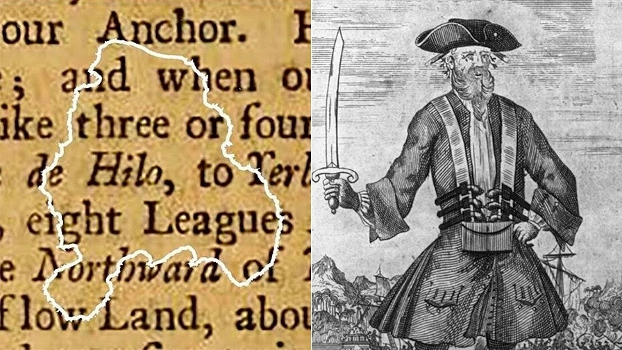 Incredible Blackbeard discovery: Stunning find on buccaneer's ship reveals pirate reading habits