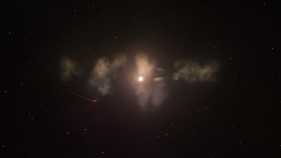 Researchers think the young star RZ Piscium's strange dimming may come from clouds of wrecked planetary debris.