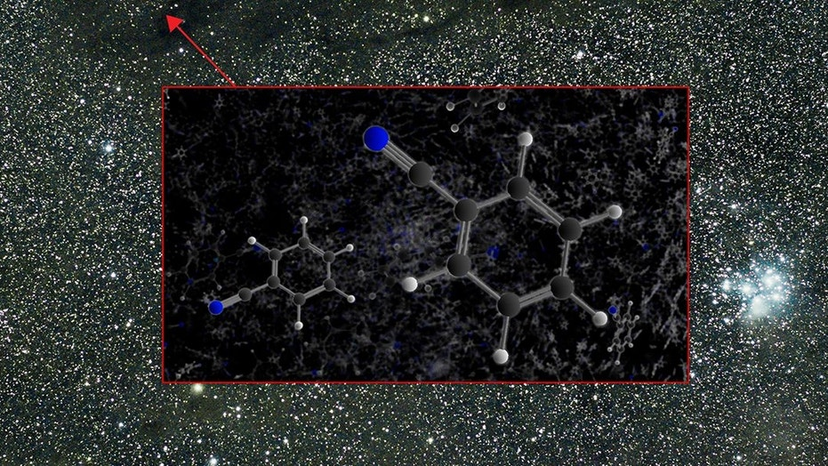 The Green Bank Telescope detected the aromatic molecule benzonitrile in the Taurus Molecular Cloud 1 (TMC-1).