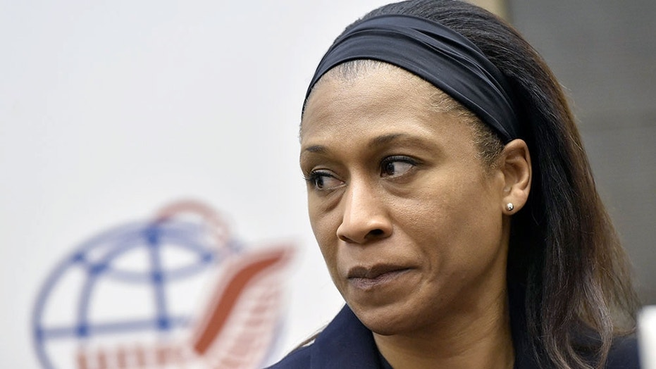 NASA astronaut Jeanette Epps, seen here in November 2017 at the Gagarin Cosmonaut Training Center in Star City, Russia, has been removed from her scheduled expedition to the International Space Station in June 2018.