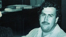 FILE PHOTO AUG83 - Colombian drug lord Pablo Escobar and his wife Victoria Henao appear in this file photograph when Escobar was a member of the Colombian Congress in 1983. The late cocaine kingpin's wife and her son Juan Pablo Escobar were detained in Buenos Aires late Monday on charges of laundering drug money and falsifying documents. B/W ON LY (COLOMBIA OUT).