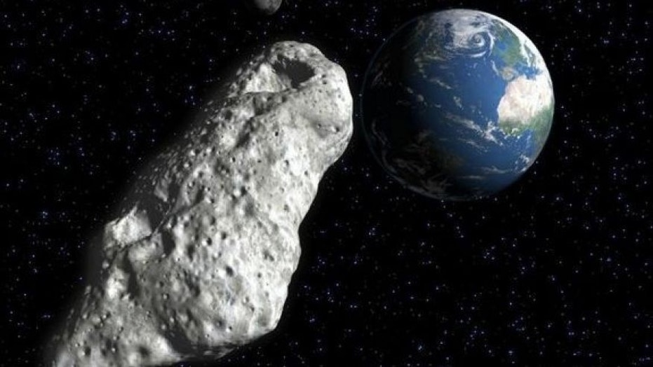 File illustration of an asteroid (Texas A&M)