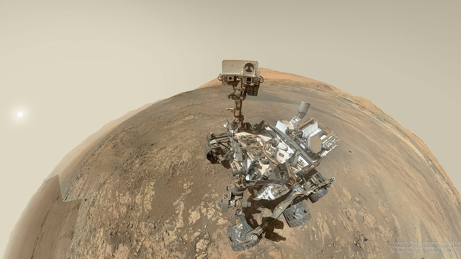 NASA Curiosity rover on the Red Planet since August 2012 and assessing the habitability of Mars.