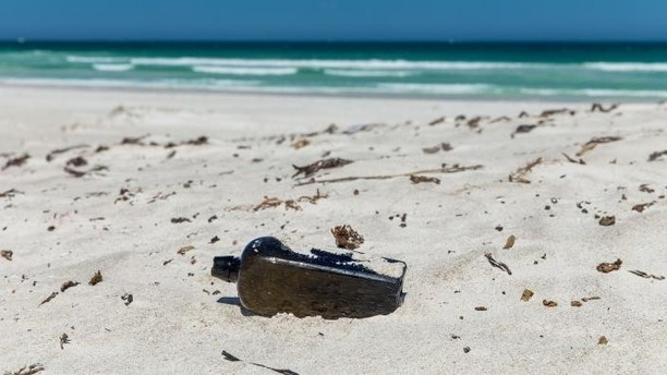World's oldest message in a bottle discovered on Australian beach