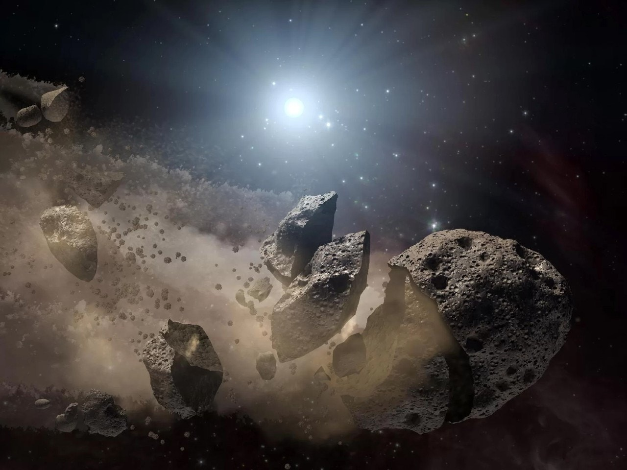 Spacecraft could nuke dangerous asteroid to defend Earth